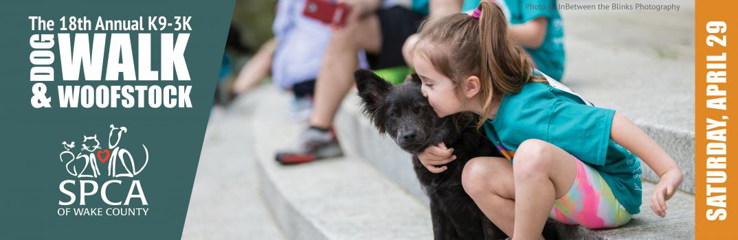 SPCA Of Wake County K9-3K Dog Walk & Woofstock